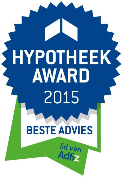 Onafhankelijk adviseurs Adfiz winnen 'Beste Advies' Hypotheek Award 2015