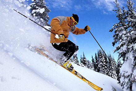 Doe de Finfin van Adfiz wintersport-checklist voor vertrek